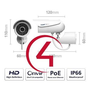 Picture of Y-Cam Bullet HD IP Camera Control4 Driver License