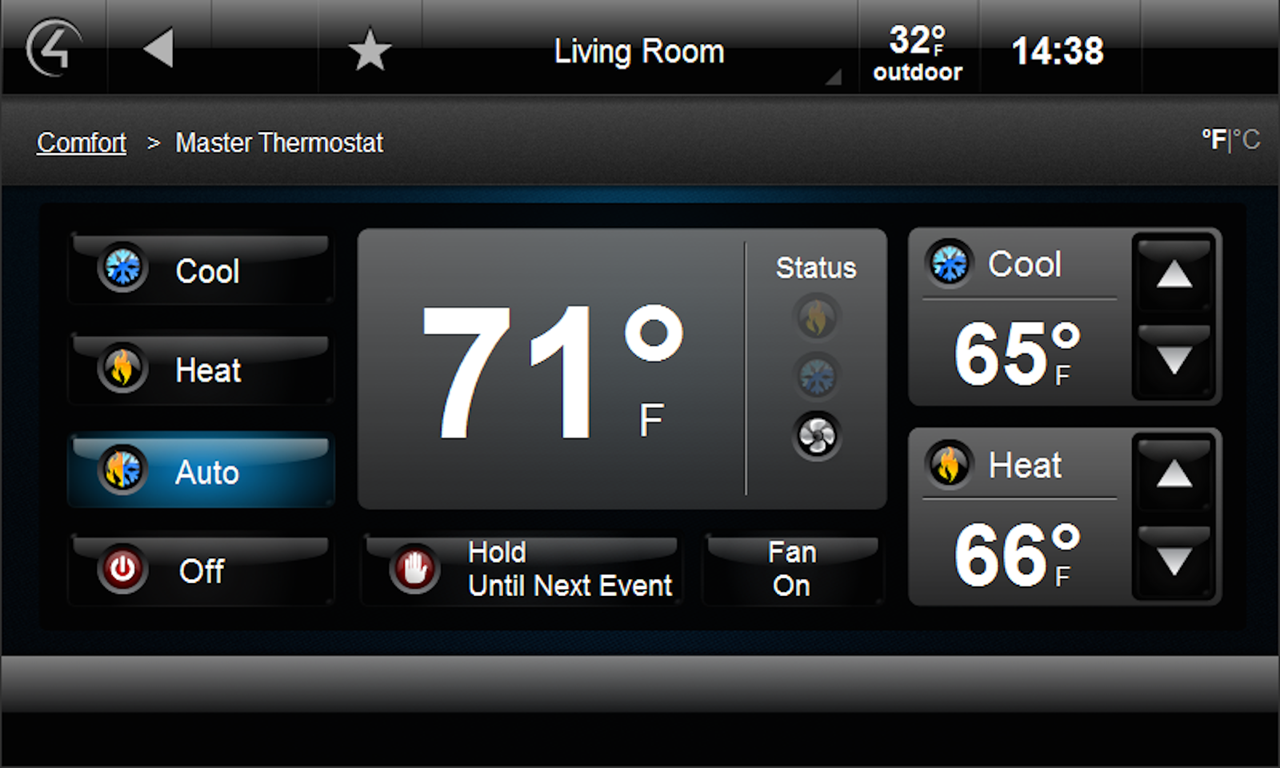 Houselogix master thermostat control4 driver license for Control4 prices reviews