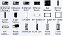 Picture of Control4 Lighting Visio Stencils