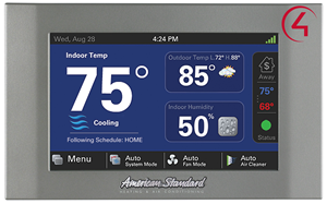 Picture of American Standard Thermostat Control4 Driver