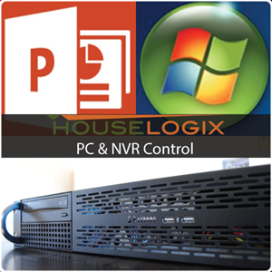 Picture of HouseLogix PC and NVR Control