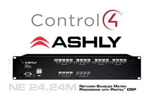 Picture of Ashly NE 24.24m Media Amplifier Control4 Driver