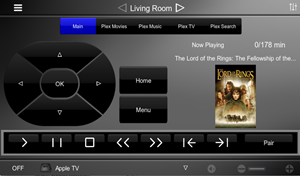 HouseLogix. AppleTV 4 With Plex Control for Elan