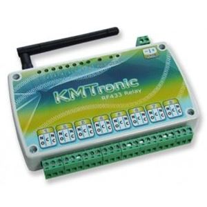 Picture of KMTronic IP 8 Radio Relay Board Driver